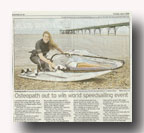Zara in evening post